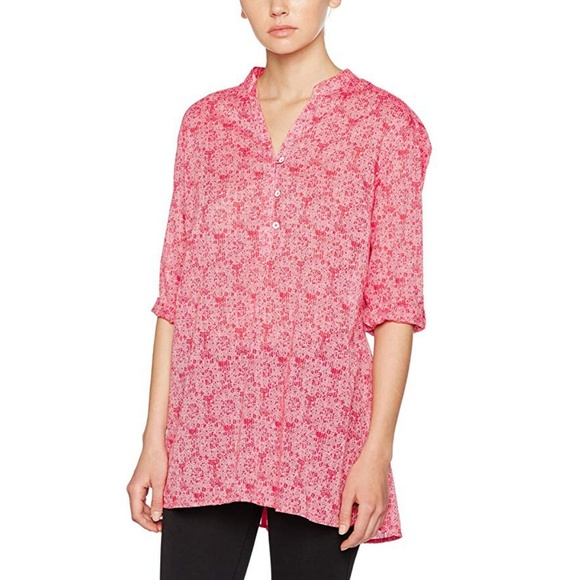 b8ee43d636e Columbia Tops | Early Tide Tunic Coral Bloom Floral Print | Poshmark